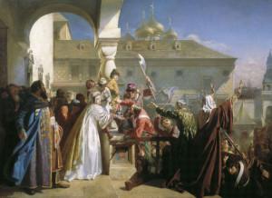 Бунт стрельцов 1682 года