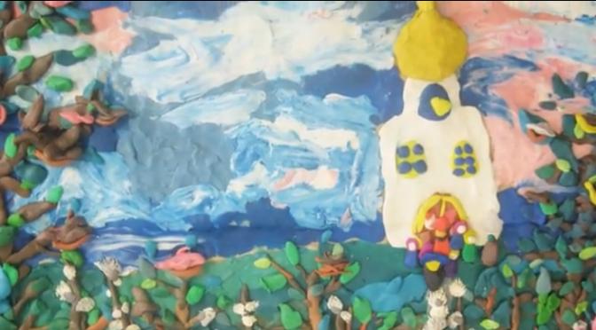 Воспитанники воскресной школы сняли мультфильм к празднику Пасхи