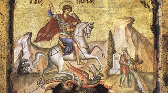 «Днесь блажат тя мира концы…» Святой Георгий Победоносец и его почитание на Руси
