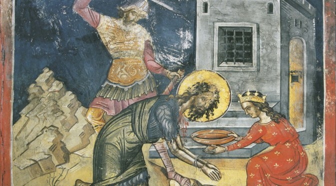 Неизвестная история главы Крестителя Господня Иоанна