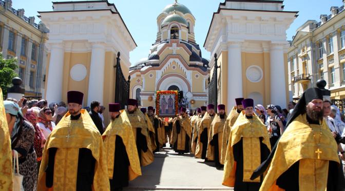 В Саратове прошли торжества в день памяти святых Кирилла и Мефодия