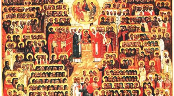 Неделя 2-я по Пятидесятнице, Всех святых в земле Российской просиявших
