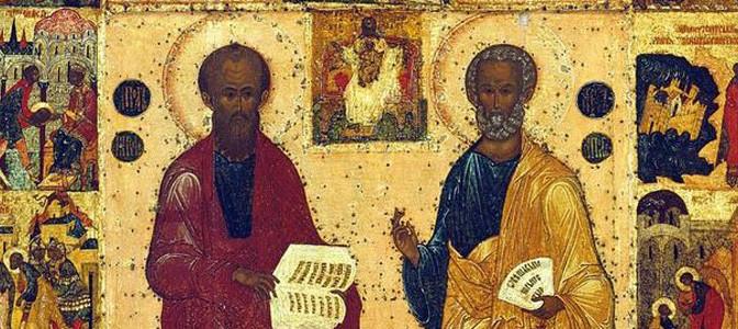 Петров пост. Почему апостолы Петр и Павел называются первоверховными