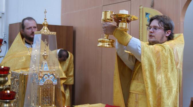Божественная литургия в день памяти святых Первоверховных апостолов Петра и Павла