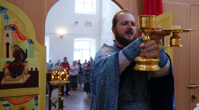Божественная литургия в праздник Казанской иконы Божией Матери