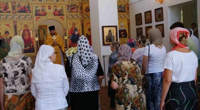Божественная литургия в день 1000-летия преставления равноапостольного князя Владимира