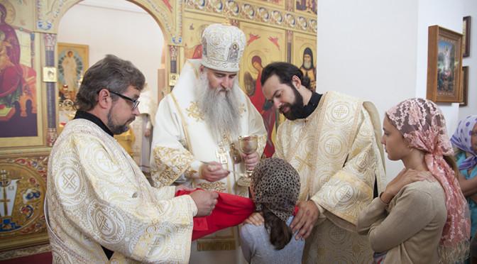Божественная литургия в праздник святителя Митрофана Воронежского