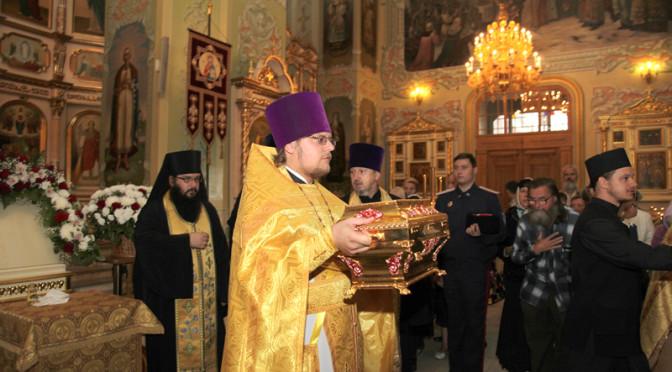 Завершилось пребывание мощей князя Владимира в Саратове
