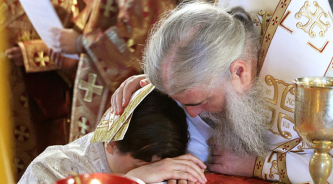 Рукоположение в сан диакона Владимира Суяргулова