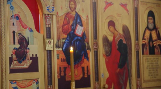Богослужения в праздник Собора Архангела Михаила и прочих Небесных Сил