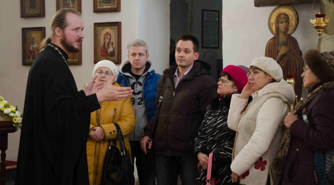 Экскурсия  в нашем храме