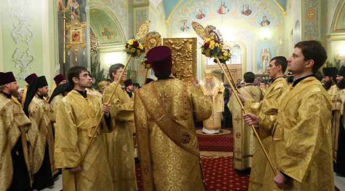 Священник Димитрий Лазутин удостоен права ношения камилавки