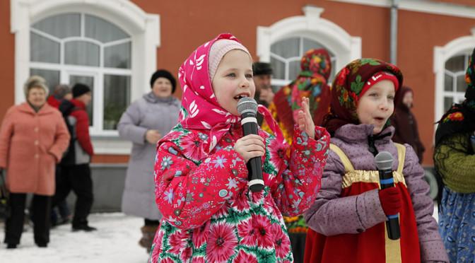 В Покровском храме прошел зимний праздник