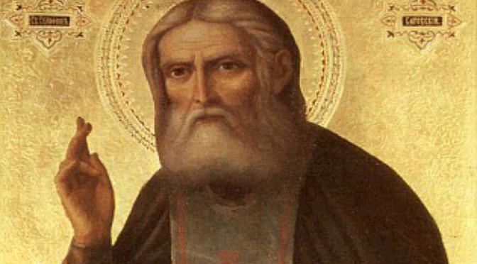 Беседа преподобного Серафима о стяжании Святого Духа