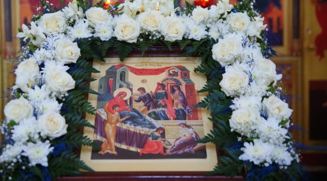 Всенощное бдение в канун праздника Рождества Пресвятой Богородицы