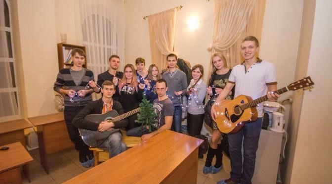 В молодежном клубе «Ладья» состоялась заключительная встреча