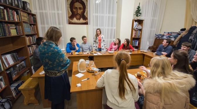 Состоялась очередная встреча в молодежном клубе «Ладья»