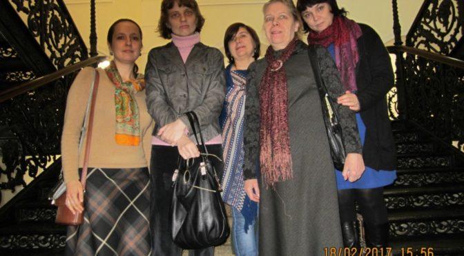 Участники кружка церковнославянского языка нашего храма побывали на выставке в Радищевском музее