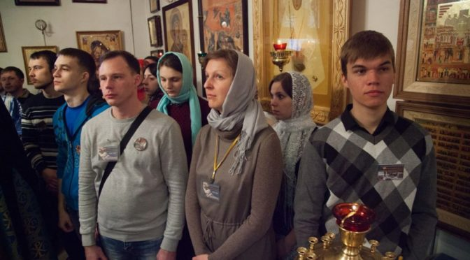 Представители молодежного клуба «Ладья» приняли участие в VIII Зимнем слете-форуме православной молодежи