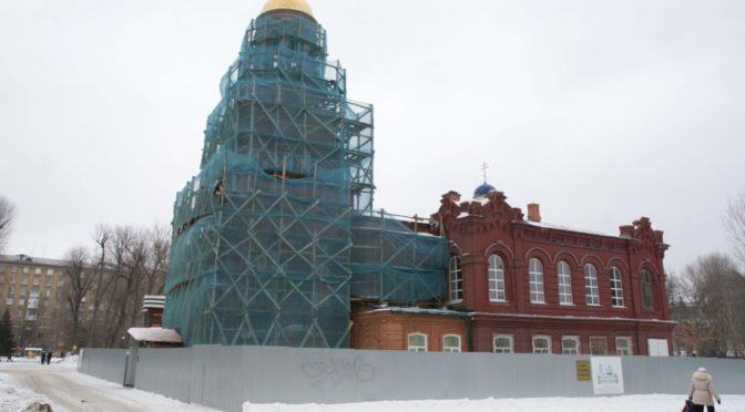 Текущие реставрационные работы в храме (обновление от 18 февраля 2017 года)