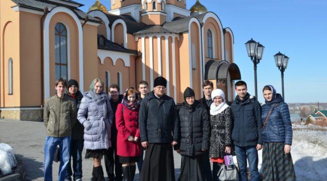 Молодежный клуб «Ладья» побывал на экскурсии в храмах Саратова