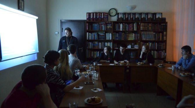 Новая встреча в молодежном клубе «Ладья»