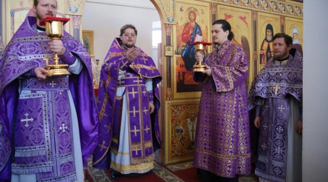 Богослужение в день Торжества Православия