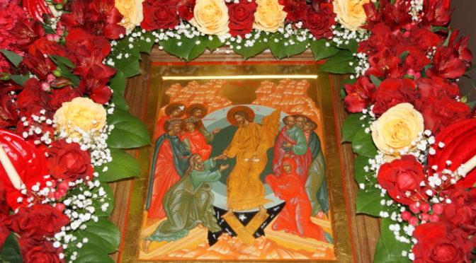 Христос Воскресе! Ночное Пасхальное богослужение в нашем храме