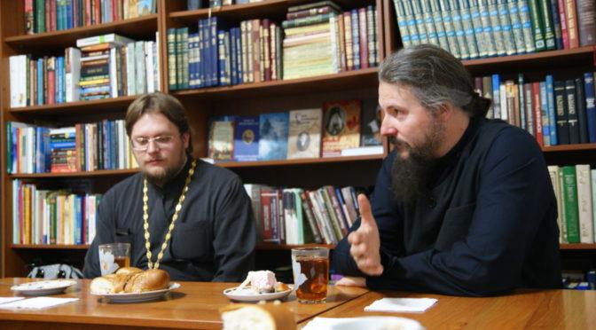В гостях у «Ладьи» побывал протоиерей Владимир Пархоменко