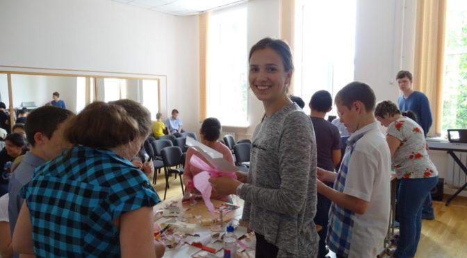 Православная молодежь посетила школу-интернат