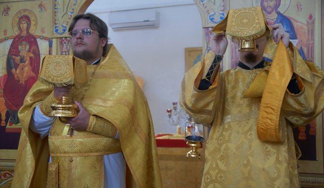 Божественная литургия в Неделю 5-ю по Пятидесятнице