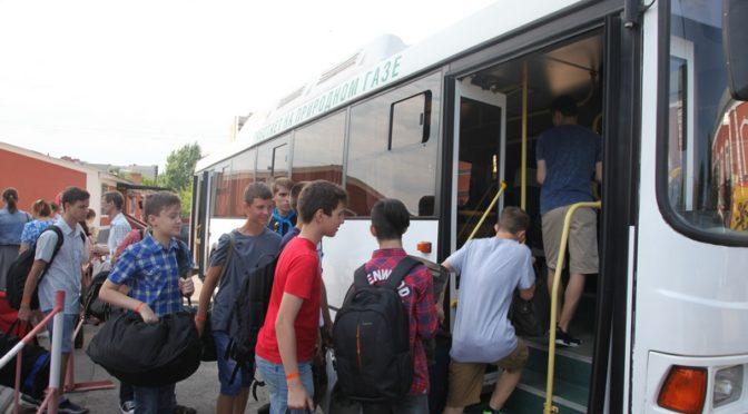 В детском православном лагере «Солнечный» началась третья смена