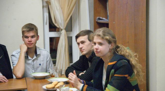 В молодежном клубе «Ладья» состоялся просмотр и обсуждение фильма «Монах»