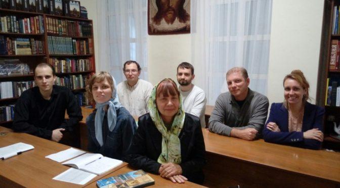 Кружок церковнославянского языка возобновил свою работу