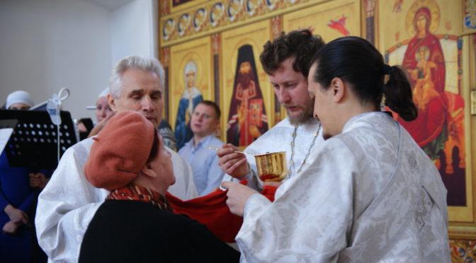 Божественная литургия в день Димитриевской родительской субботы
