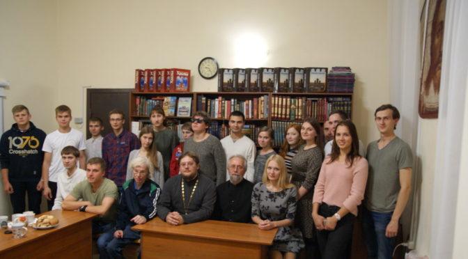 Активисты молодежного клуба «Ладья» узнали о тюремном служении Церкви