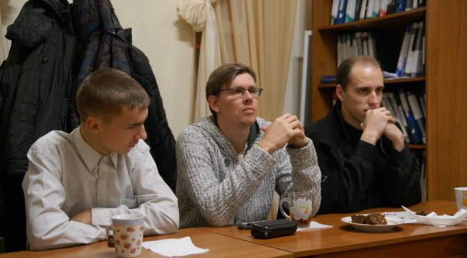 В молодежном клубе «Ладья» прошла встреча на тему поминовения усопших