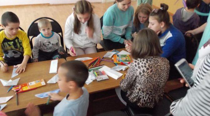 Активисты молодежного клуба «Ладья» провели встречу с воспитанниками приюта «Возвращение»