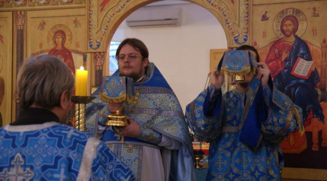 В день Казанской иконы Божией Матери совершена Божественная литургия