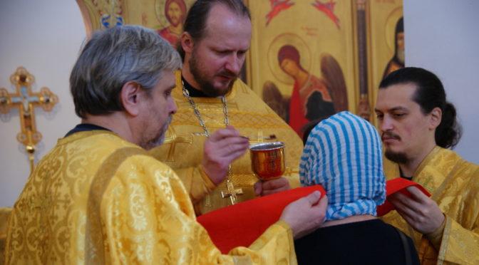 Божественная литургия в Неделю 22-ю по Пятидесятнице