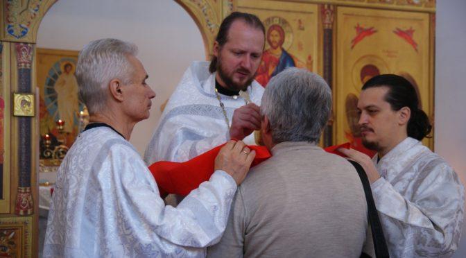 Литургия в праздник Собора Архистратига Михаила и прочих Небесных Сил бесплотных