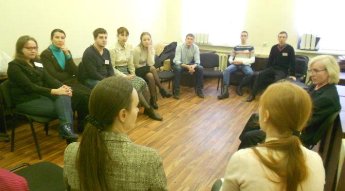 Молодежный отдел епархии организовал тренинг коммуникативных навыков
