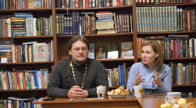 Молодежный клуб «Ладья» встретился с Руководителем Епархиальной юридической службы