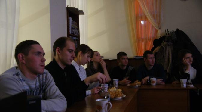 В молодежном клубе «Ладья» состоялся просмотр и обсуждение фильма про Саратовскую семинарию
