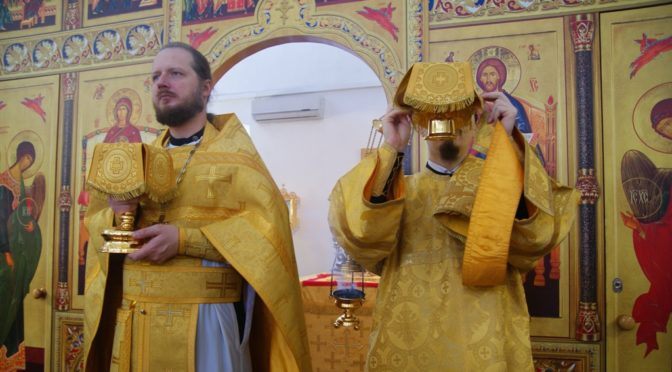 Воскресное богослужение в Неделю 28-ю по Пятидесятнице