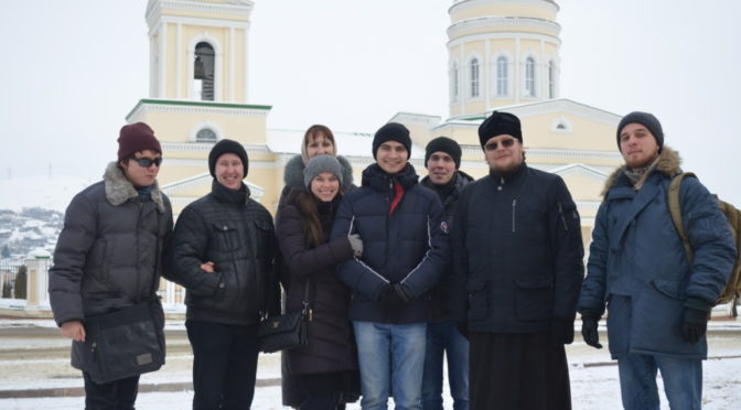 Активисты молодежного общества «Ладья» совершили паломническую поездку в Вольск