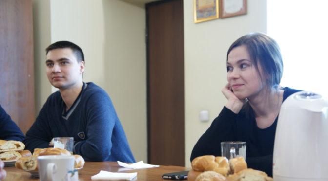 Встреча молодежного клуба «Ладья» в праздник Богоявления