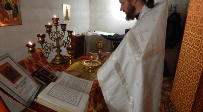 Клирик храма совершил богослужения на приписном приходе