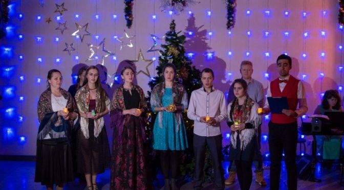 Ребята из «Ладьи» приняли участие в рождественской вечерке