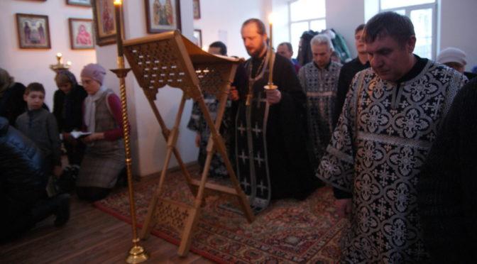 Великое повечерие с чтением третьей части канона Андрея Критского